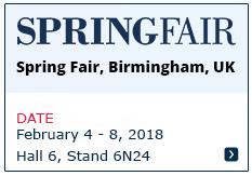 Spring Fair - Birmingham 2018